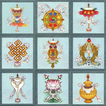 благоприятные символы