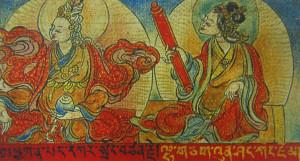 Король Тибета Сонгцен Гампо и принцесса Венченг
