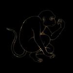 5 -9 обезьяна